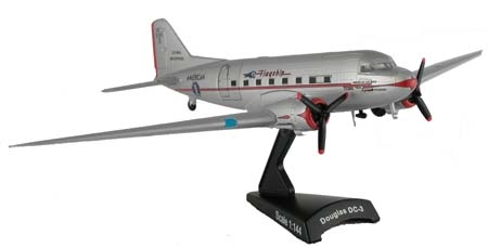 Model Model Power MP5559-1 DC-3 American Airlines Flagship 144 scale