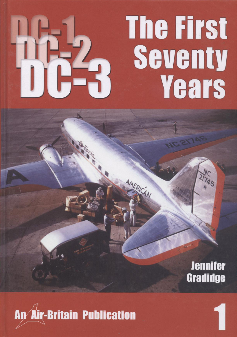 Book DC-1 DC-2 DC-3 The First seventy years 1