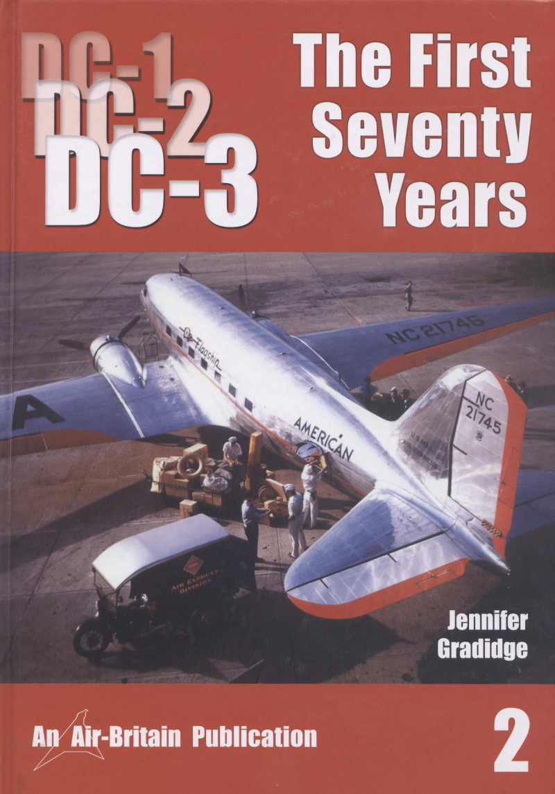 Book DC-1 DC-2 DC-3 The First seventy years 2