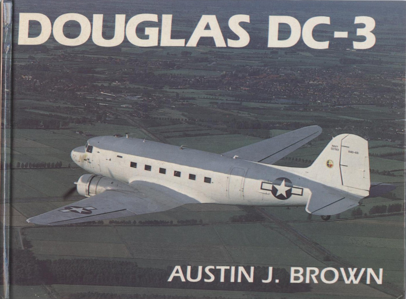 Book Douglas DC-3 Austin J Brown
