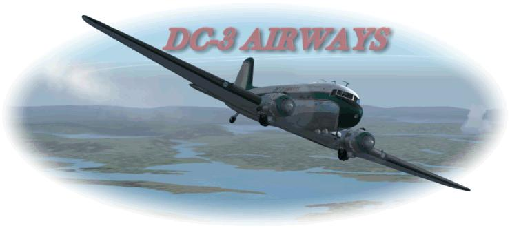 DC-3 Airways logo